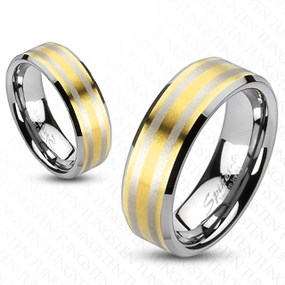 Bague couple tungstene Online