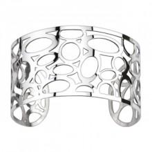 Bracelet acier modulable ajour� � ovales