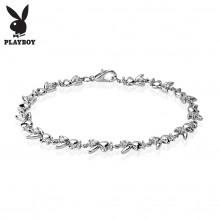 Bracelet fantaisie femme à maillons lapins Playboy